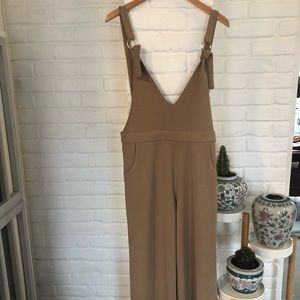 Other - Tan Jumpsuit purchased in Japan SZ M